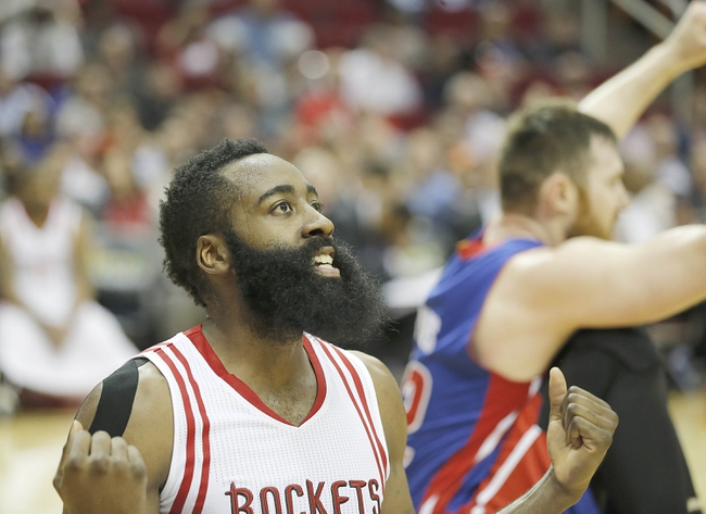 Detroit Pistons vs. Houston Rockets - 11/21/16 NBA Pick, Odds, and Prediction