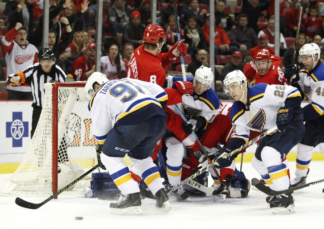 St. Louis Blues vs. Detroit Red Wings - 10/27/16 NHL Pick, Odds, and Prediction