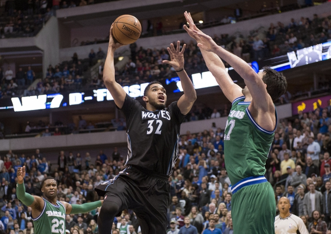 Minnesota Timberwolves at Dallas Mavericks - 2/28/16 NBA Pick, Odds, and Prediction