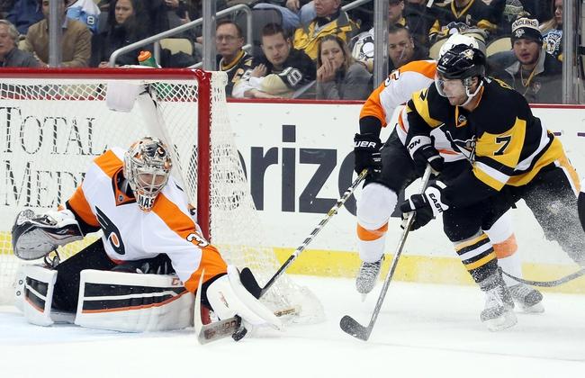 Flyers vs. Penguins - 3/19/16 NHL Pick, Odds, and Prediction