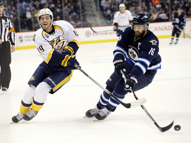 Jets vs. Predators - 3/8/16 NHL Pick, Odds, and Prediction