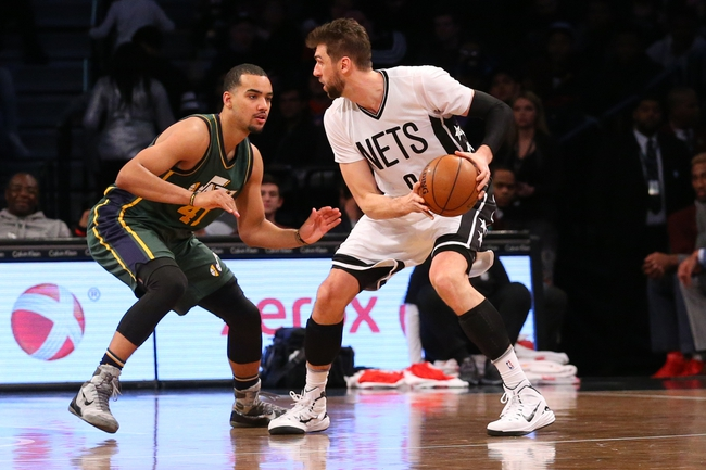 Jazz vs. Nets - 2/27/16 NBA Pick, Odds, and Prediction