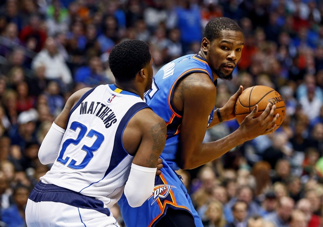 Oklahoma City Thunder at Dallas Mavericks  - 2/24/16 NBA Pick, Odds, and Prediction