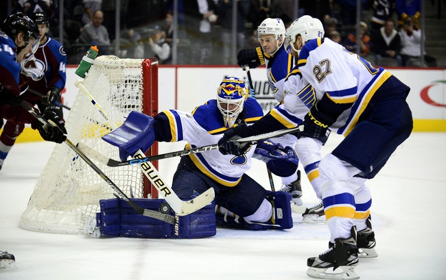 St. Louis Blues vs. Colorado Avalanche - 3/29/16 NHL Pick, Odds, and Prediction