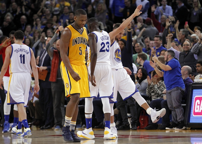 Indiana Pacers vs. Golden State Warriors - 11/21/16 NBA Pick, Odds, and Prediction