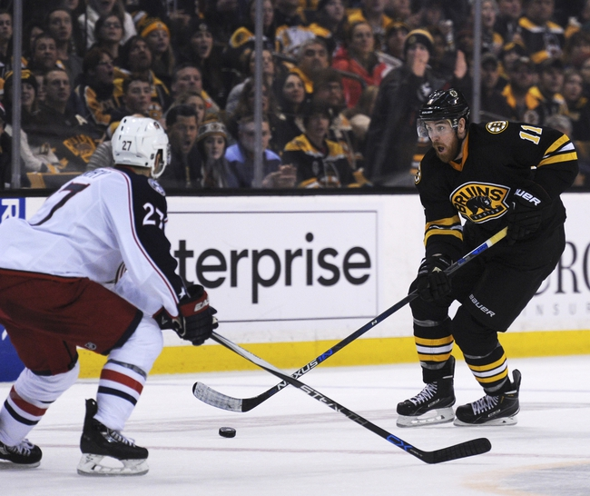 Columbus Blue Jackets vs. Boston Bruins - 2/16/16 NHL Pick, Odds, and Prediction