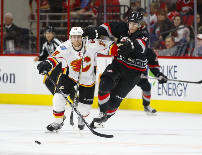 Flames vs. Hurricanes - 2/3/16 NHL Pick, Odds, and Prediction