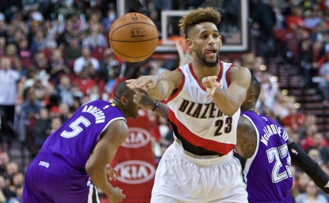 Trail Blazers vs. Kings - 3/28/16 NBA Pick, Odds, and Prediction