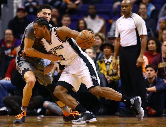 Suns vs. Spurs - 2/21/16 NBA Pick, Odds, and Prediction