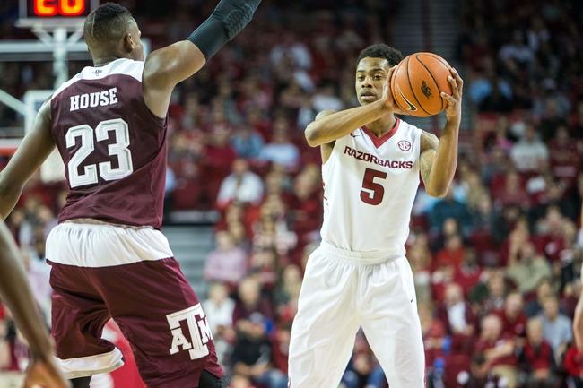 Arkansas vs. Texas Tech - 1/30/16 College Basketball Pick, Odds, and Prediction