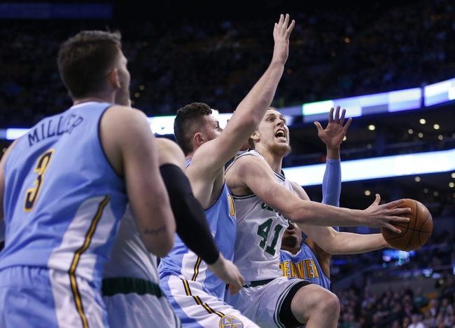Nuggets vs. Celtics - 2/21/16 NBA Pick, Odds, and Prediction
