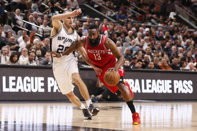 Rockets vs. Spurs - 2/27/16 NBA Pick, Odds, and Prediction