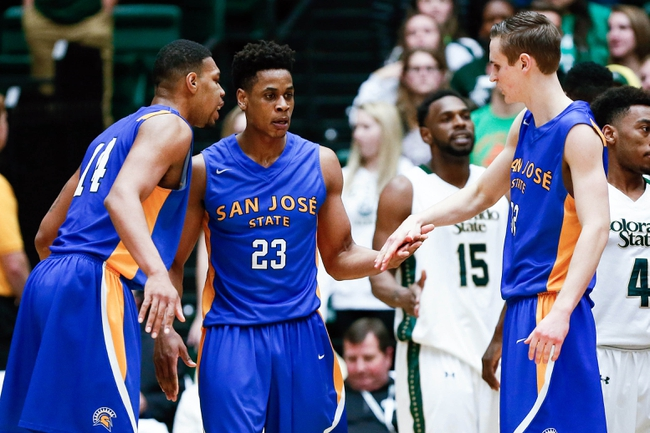 San Jose State Spartans vs. Air Force Falcons - 1/30/16 College Basketball Pick, Odds, and Prediction