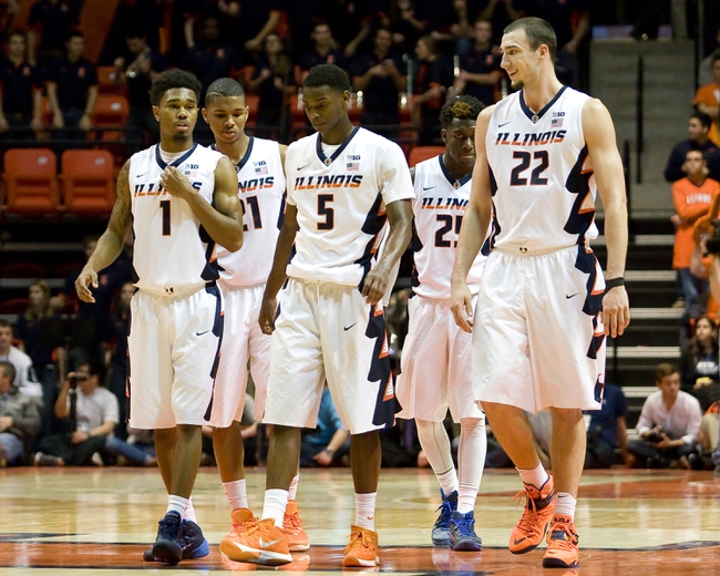 Illinois Fighting Illini vs. Wisconsin Badgers - 1/31/16 College Basketball Pick, Odds, and Prediction