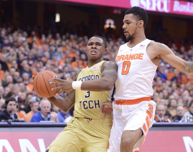 Georgia Tech vs. Duke - 2/2/16 College Basketball Pick, Odds, and Prediction