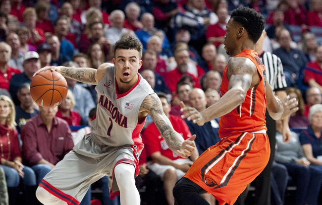 Arizona Wildcats vs. UCLA Bruins - 2/12/16 College Basketball Pick, Odds, and Prediction