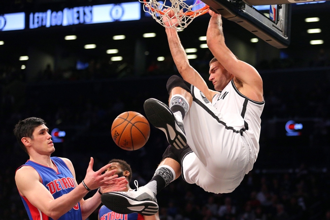 Pistons vs. Nets - 3/19/16 NBA Pick, Odds, and Prediction