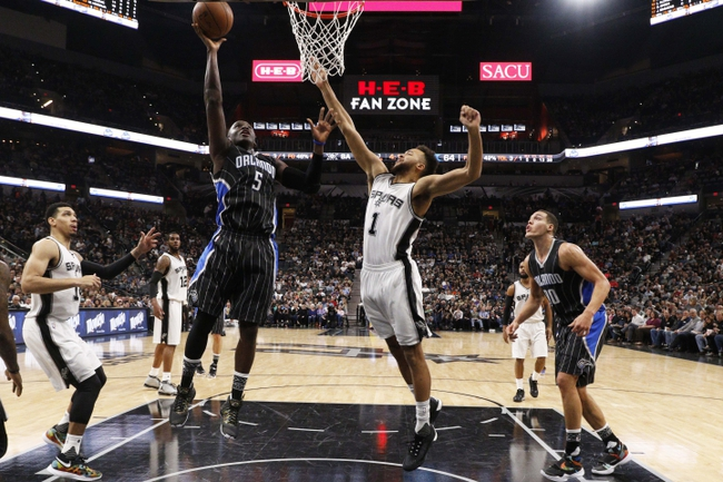 Magic vs. Spurs - 2/10/16 NBA Pick, Odds, and Prediction