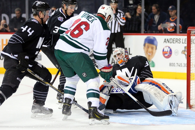 Minnesota Wild vs. New York Islanders - 2/23/16 NHL Pick, Odds, and Prediction