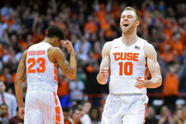 Syracuse Orange vs. Florida State Seminoles - 2/11/16 College Basketball Pick, Odds, and Prediction