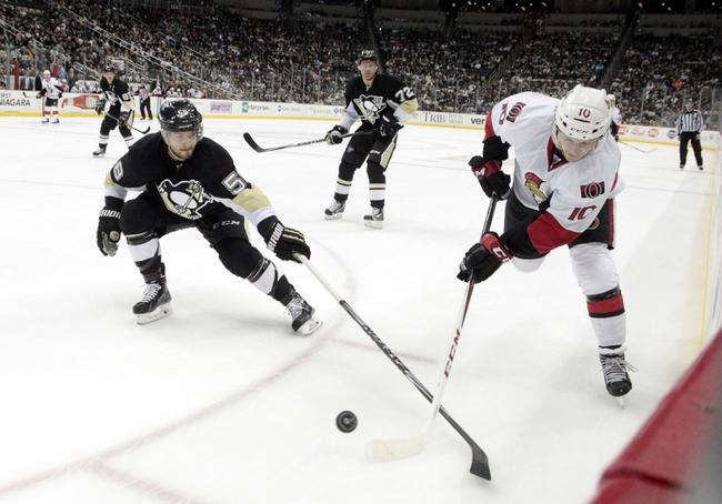 Senators vs. Penguins - 4/5/16 NHL Pick, Odds, and Prediction
