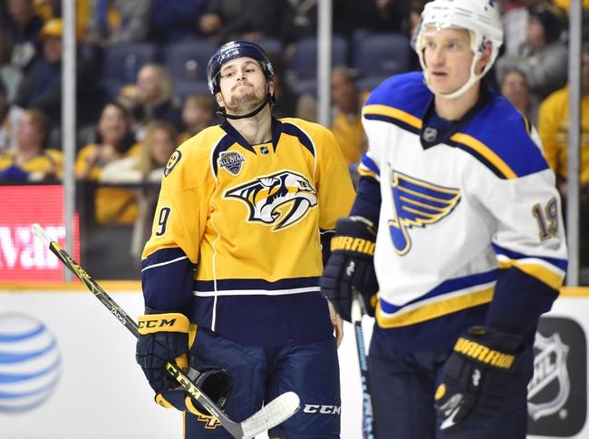 Nashville Predators vs. St. Louis Blues - 2/27/16 NHL Pick, Odds, and Prediction