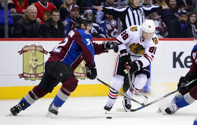 Crawford gets shutout as Blackhawks beat Avalanche 4-0