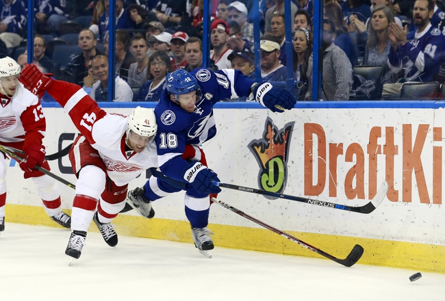 Lightning vs. Red Wings - 3/22/16 NHL Pick, Odds, and Prediction
