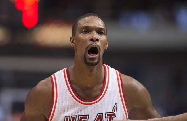 Chris Bosh Failed Physical: Looking at Miami Heat Projected Win Total For 2016-17 Season