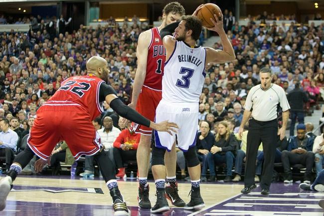 Bulls vs. Kings - 3/21/16 NBA Pick, Odds, and Prediction