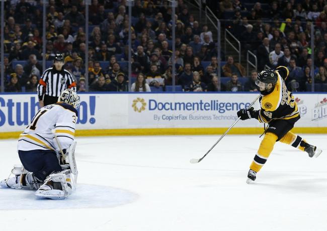 Boston Bruins vs. Buffalo Sabres - 11/7/16 NHL Pick, Odds, and Prediction