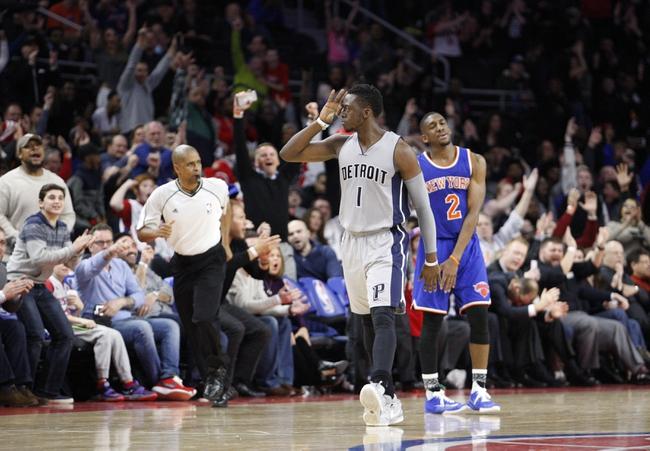 Knicks vs. Pistons - 3/5/16 NBA Pick, Odds, and Prediction