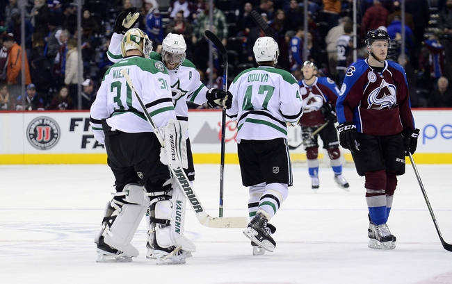 Stars vs. Avalanche - 4/7/16 NHL Pick, Odds, and Prediction