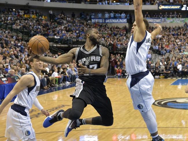Spurs at Mavericks - 4/13/16 NBA Pick, Odds, and Prediction