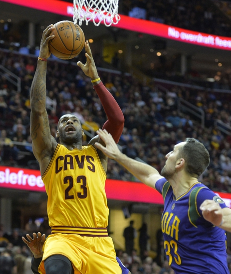 Cavs to be without Irving, Dunleavy vs. Hornets