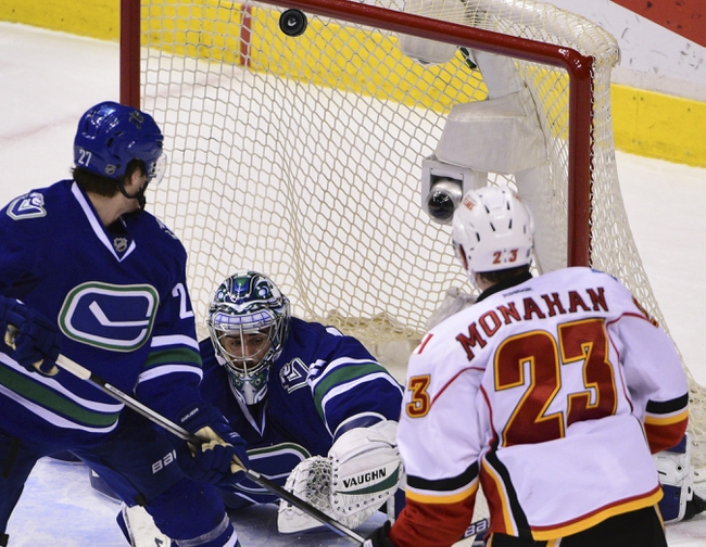 Flames vs. Canucks - 2/19/16 NHL Pick, Odds, and Prediction