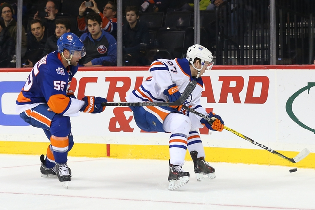 Oilers vs. Islanders - 2/28/16 NHL Pick, Odds, and Prediction