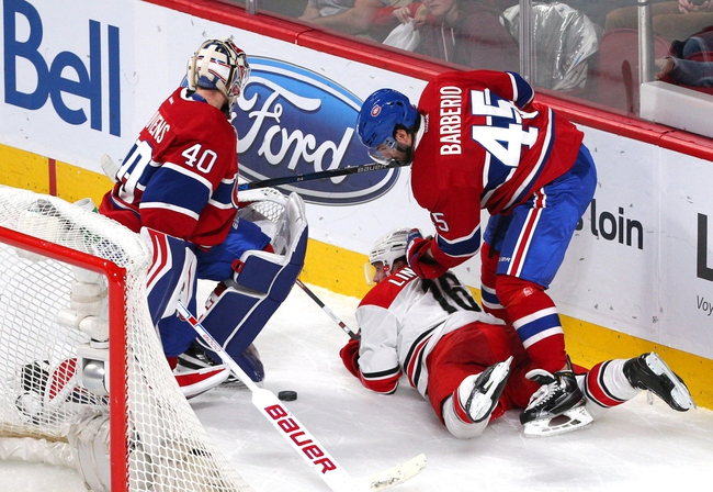 Hurricanes vs. Canadiens - 4/7/16 NHL Pick, Odds, and Prediction