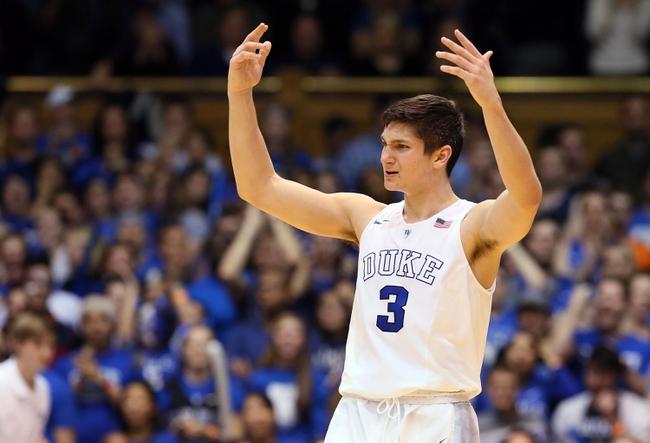 Duke Blue Devils vs. Virginia Cavaliers - 2/13/16 College Basketball Pick, Odds, and Prediction