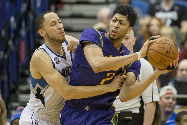Pelicans vs. Timberwolves - 2/27/16 NBA Pick, Odds, and Prediction