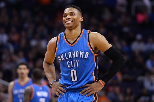 Phoenix Suns at Oklahoma City Thunder- 10/28/16 NBA Pick, Odds, and Prediction