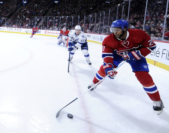 Lightning vs. Canadiens - 3/31/16 NHL Pick, Odds, and Prediction