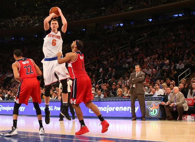 Washington Wizards vs. New York Knicks - 3/19/16 NBA Pick, Odds, and Prediction
