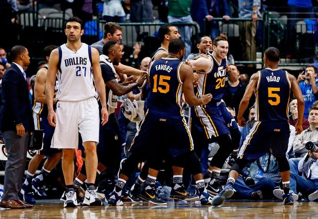 Jazz vs. Mavericks - 4/11/16 NBA Pick, Odds, and Prediction