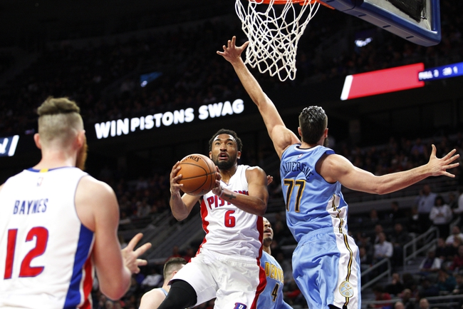 How to watch tonight's Detroit Pistons-Denver Nuggets game
