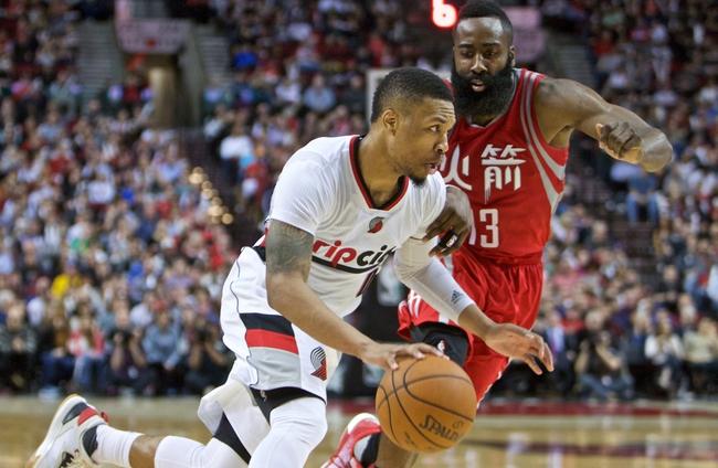 Trail Blazers vs. Rockets - 2/25/16 NBA Pick, Odds, and Prediction