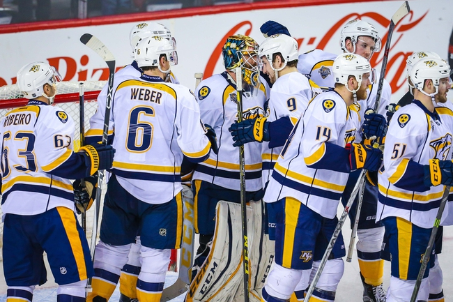 Calgary Flames vs. Nashville Predators - 3/9/16 NHL Pick, Odds, and Prediction