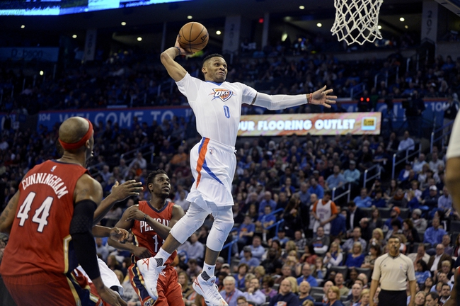 Oklahoma City Thunder at New Orleans Pelicans  - 2/25/16 NBA Pick, Odds, and Prediction