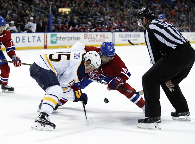 Montreal Canadiens vs. Buffalo Sabres - 3/10/16 NHL Pick, Odds, and Prediction