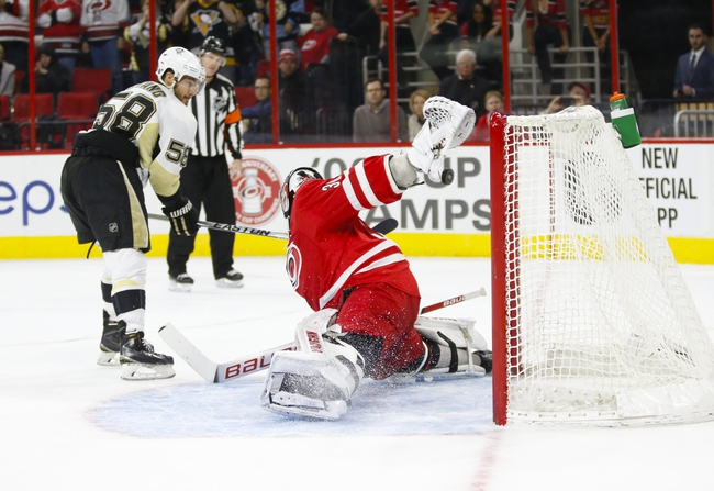 Penguins vs. Hurricanes - 3/17/16 NHL Pick, Odds, and Prediction